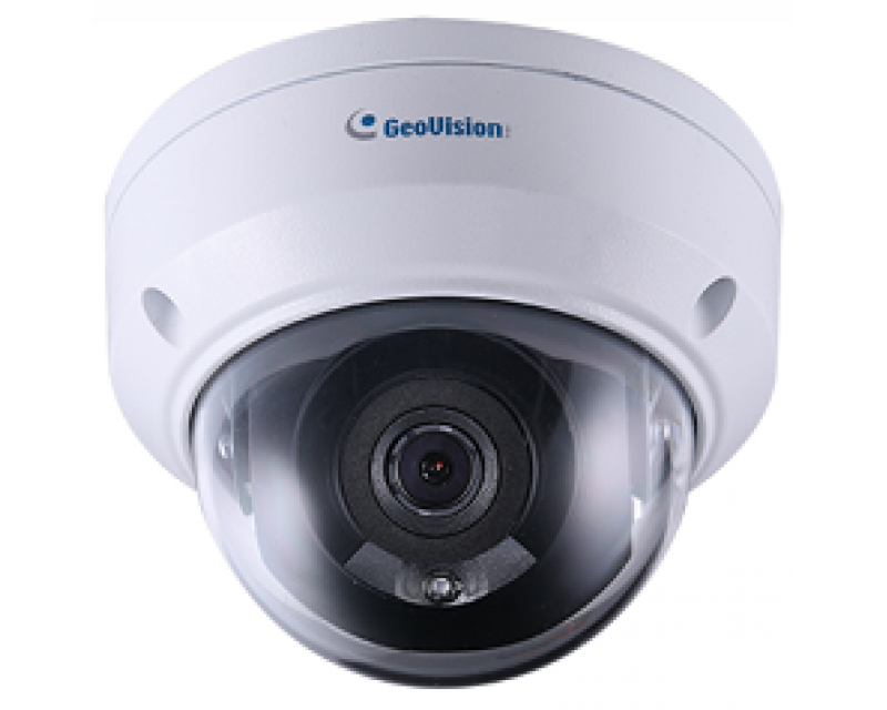 Geovision  GV-ADR2701 2MP H.265 Low Lux WDR IR Mini Fixed Rugged IP Dome Camera