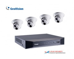 Geovision 4CH 2MP IP Security Camera System