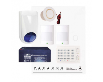 Paradox SP4000 Package with 2 PIRs